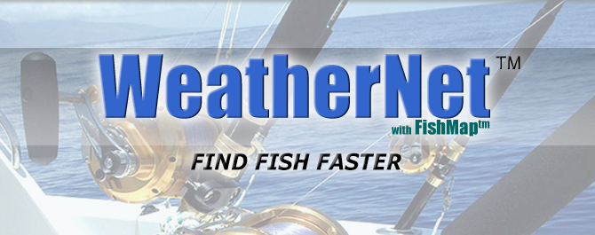 OCENS WeatherNet with FishMap Sub-Surface Thermalcline Data