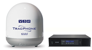 KVH TracPhone V3-IP mini-VSAT