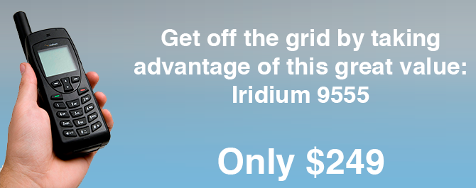 Used Iridium 9555 Satellite Phone