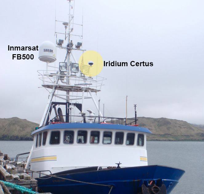 Iridium Certus replaces Inmarsat FleetBroadband 500